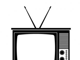 310x233 Retro Tv Vector Free Vectors Ui Download