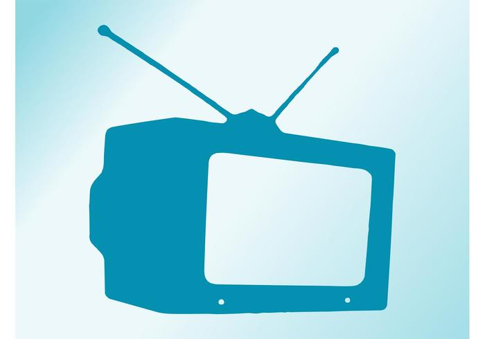 700x490 Tv Free Vector Art