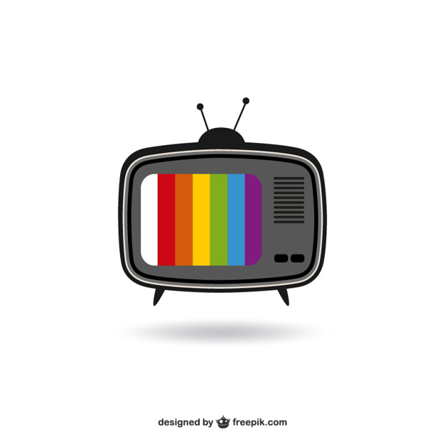 626x626 Color Tv Vector Free Download