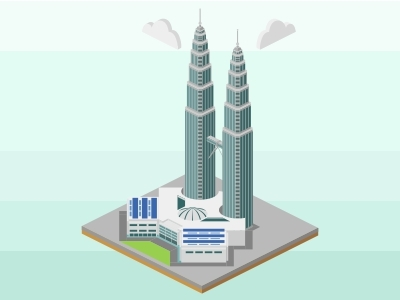 400x300 Petronas Twin Tower, Malaysia By Fikry Muhammad