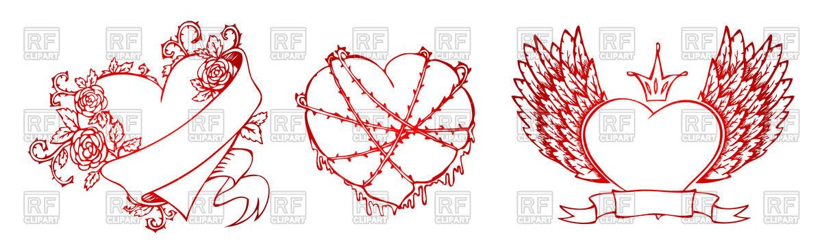 1200x369 Heart Emblems
