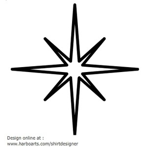 300x300 Clipart Twinkling Star North Clip Art At Clker Com Vector Online