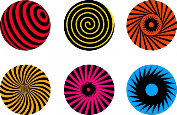 564x368 Vector Spiral Twist Circle Free Vector Download (6,141 Free Vector