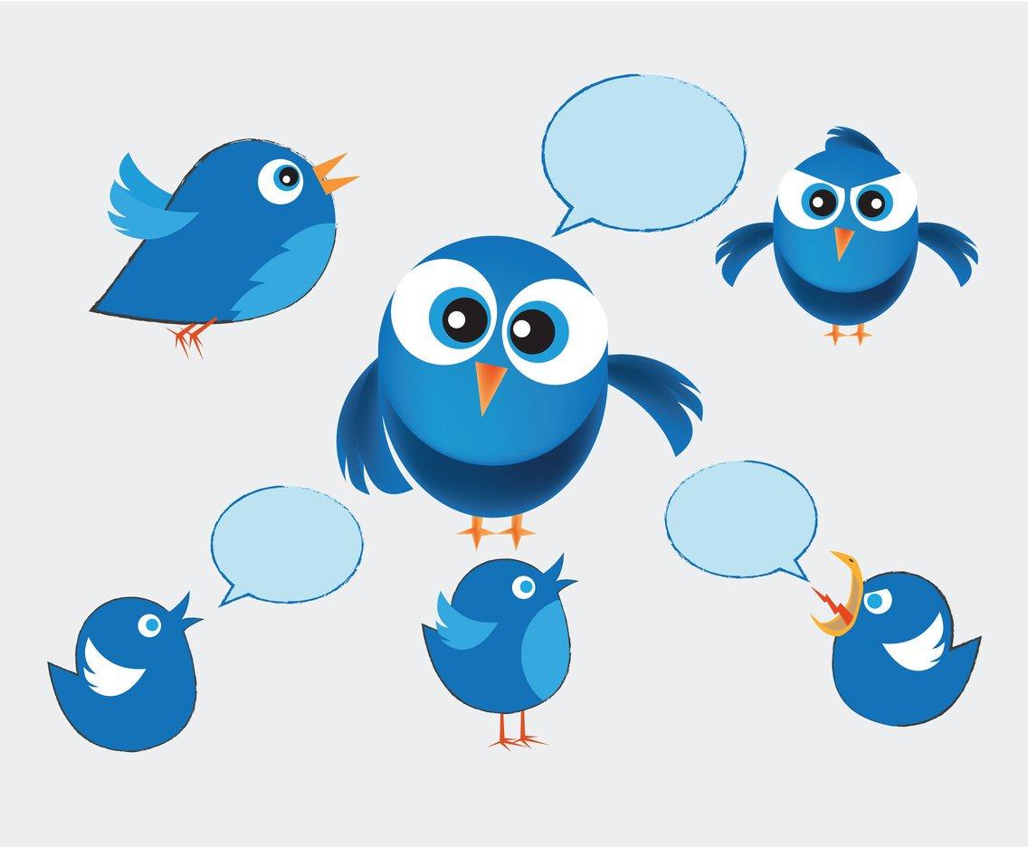 1136x936 Sketchy Twitter Birds Vector Vector Art Amp Graphics
