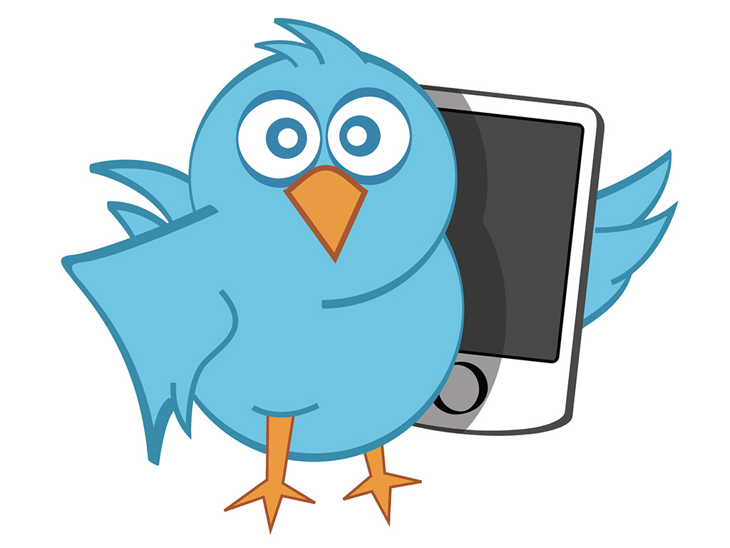 1024x768 Tweet! Free Vector Twitter Bird In .eps Format Trashedgraphics