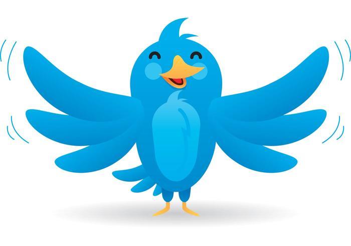 700x490 Twitter Bird Vector Mascot