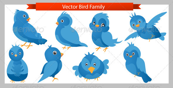 590x300 Vector Twitter Birds By Rupachand 1 Graphicriver