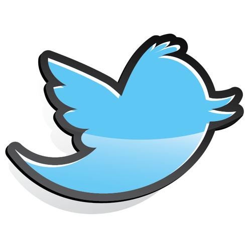 500x499 Buy Vector Twitter Bird Tweet Icon Logo Graphic Royalty Free Vectors