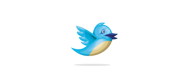 652x291 Free 3d Vector Twitter Icon Download Down With Design