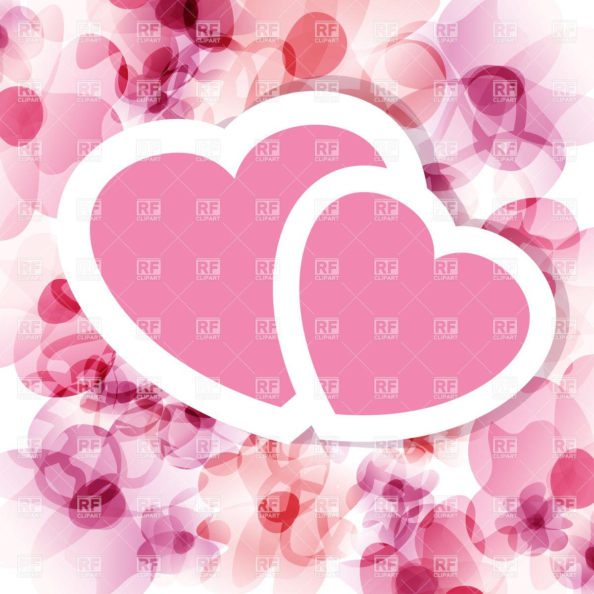 1200x1200 Pink Valentine On Floral Backround
