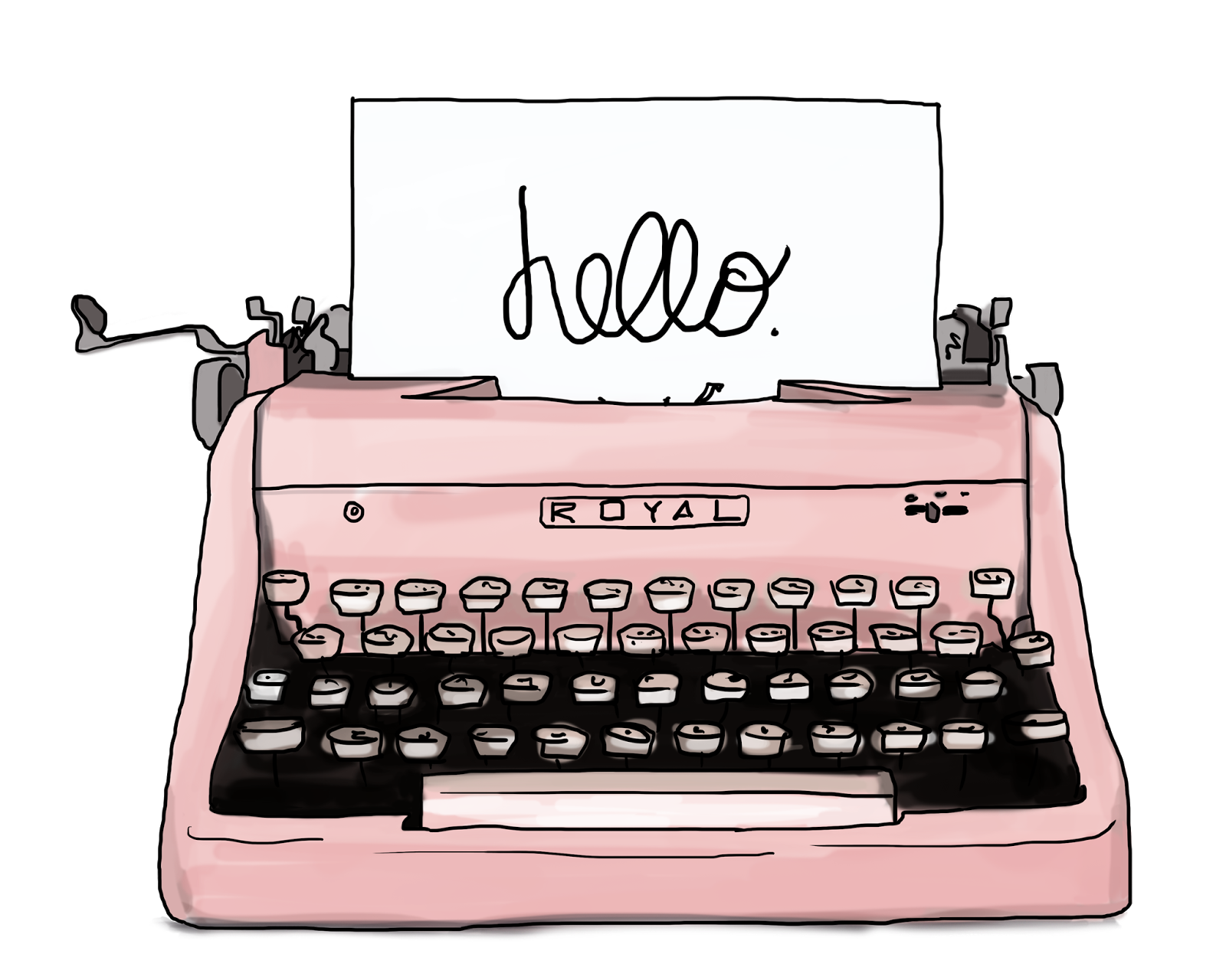 1600x1280 Typewriter Vector Free Download On Melbournechapter