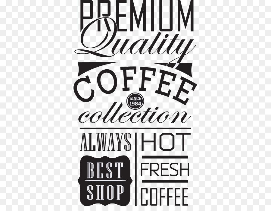 900x700 Coffee Typography Element