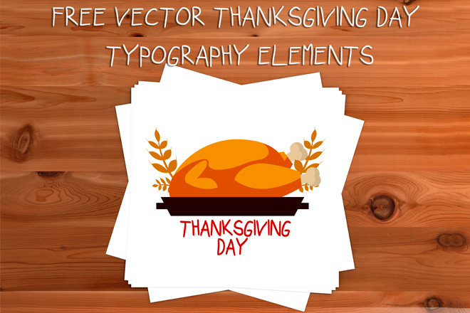 660x440 Free Vector Thanksgiving Day Elements Free Psd Templates