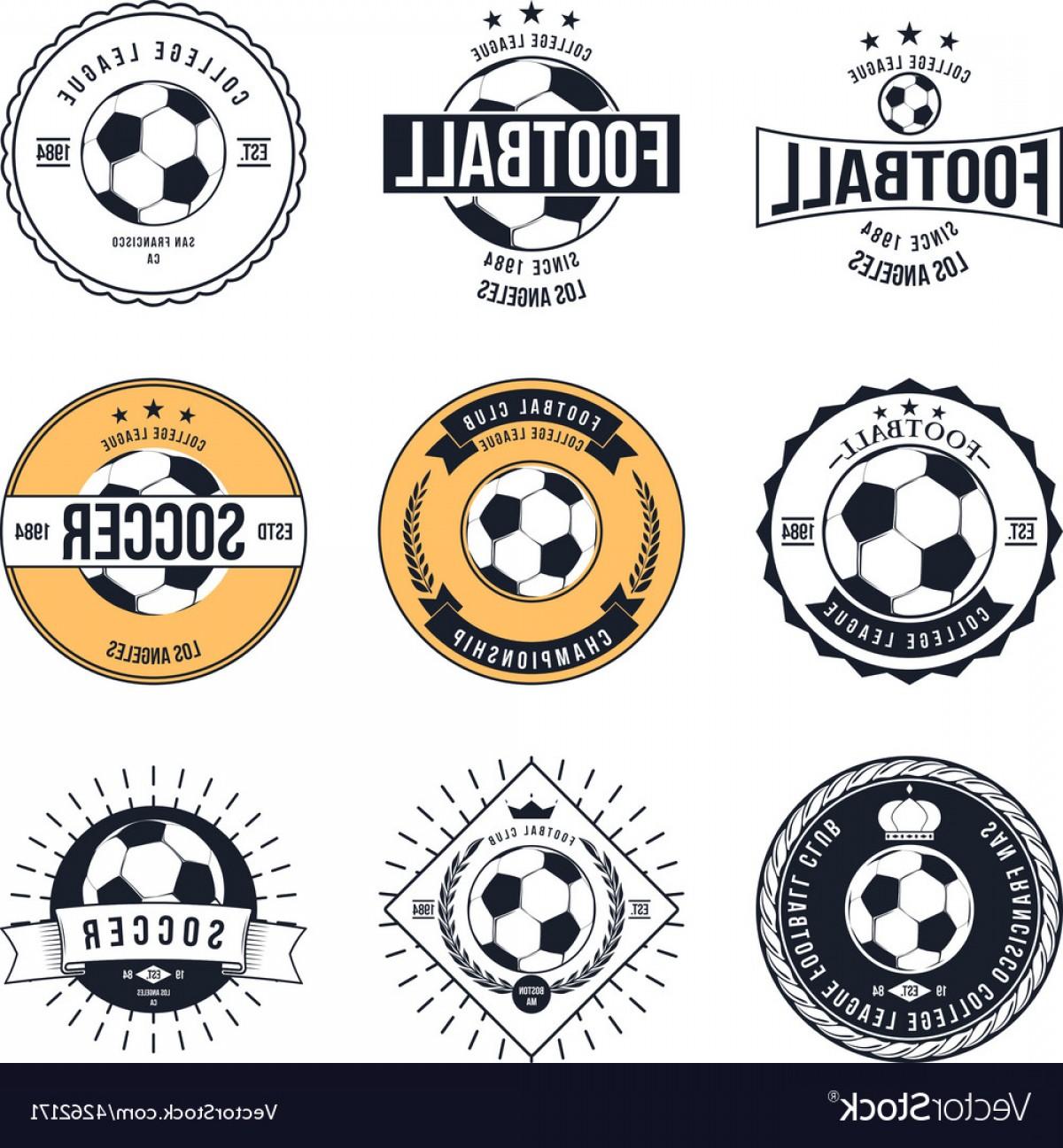 1200x1296 Soccer Football Typography Badge Design Element Vector Shopatcloth