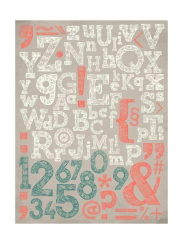 366x488 Vector Alphabet And General Typography Elements And Numbers On