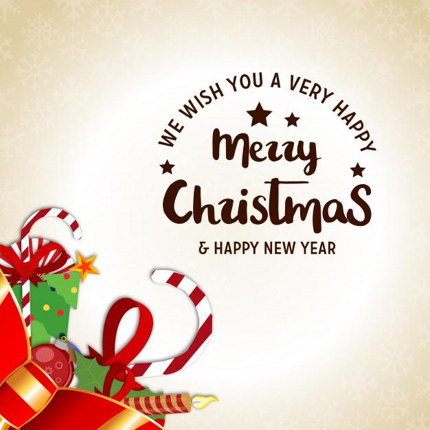 626x626 Christmas Poster Having Creative Christmas Typography And