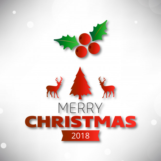 626x626 Christmas Poster Including Simple Typography And Christmas