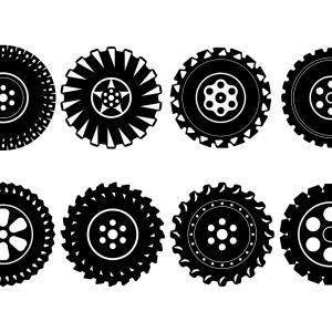 300x300 Car Wheel With Tyre Vector Clipart Lazttweet
