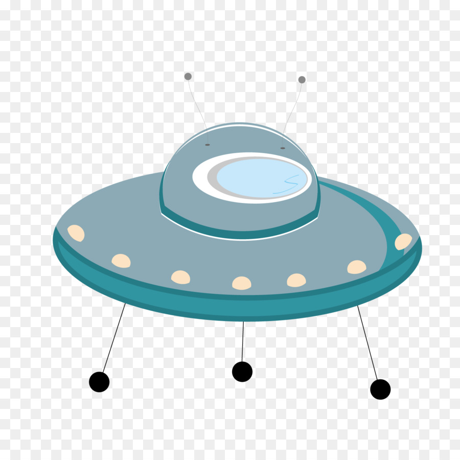 900x900 Flying Saucer Unidentified Flying Object Cartoon Clip Art