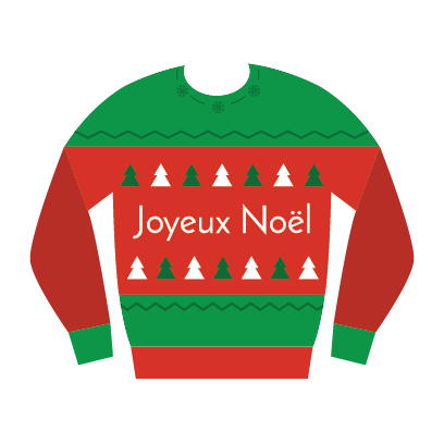 Ugly Christmas Sweater Vector