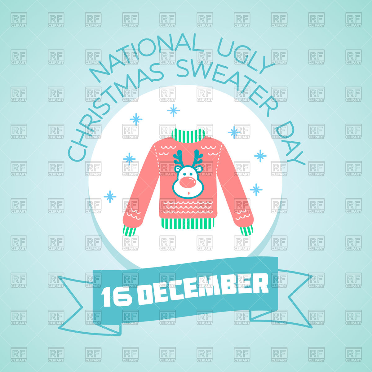 1200x1200 National Ugly Christmas Sweater Day