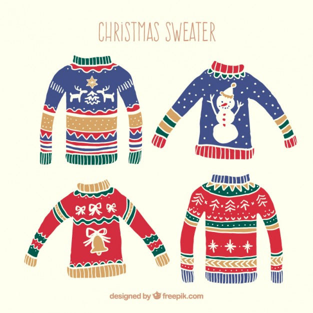 Ugly Christmas Sweaters 2019.Ugly Christmas Sweater Vector At Getdrawings Com Free For