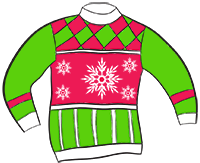 Ugly Christmas Sweater Vector Art