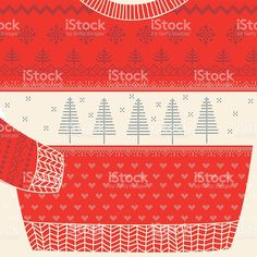 236x236 Winter Special Banner, Label With Knitted Woolen Pullover Or