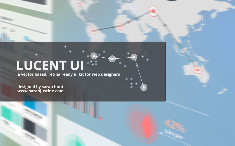960x600 Lucent Ui A Free, Vector Based And Retina Ready Ui Kit