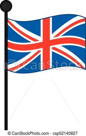298x470 Vector Flag Of The United Kingdom. Vector Union Jack. Vector Flag