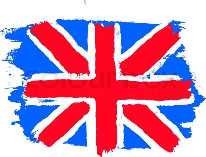 800x608 Flag Of The United Kingdom British Flag Stock Vector Colourbox