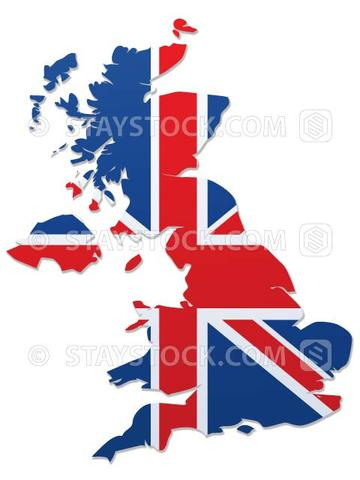 360x480 Uk Flag Map Vector Staystock