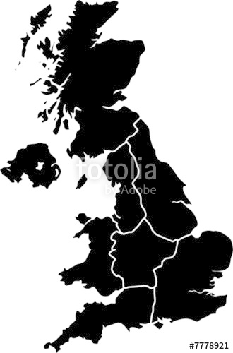 330x500 Uk Vector Map Regions Stock Image And Royalty Free Vector Files