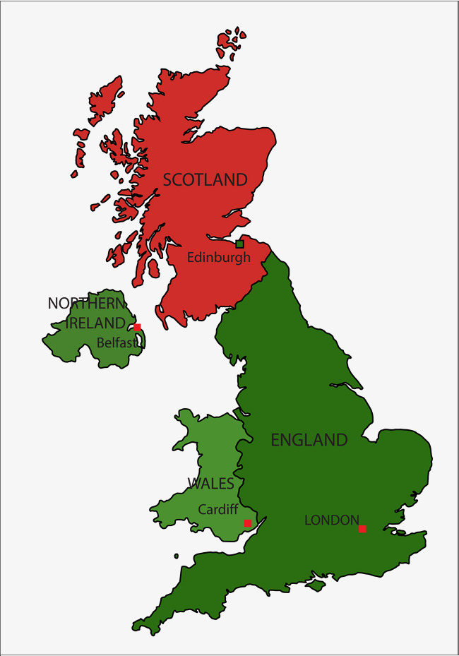 650x929 Vector Uk Map, Vector, United Kingdom, Color Png And Vector For