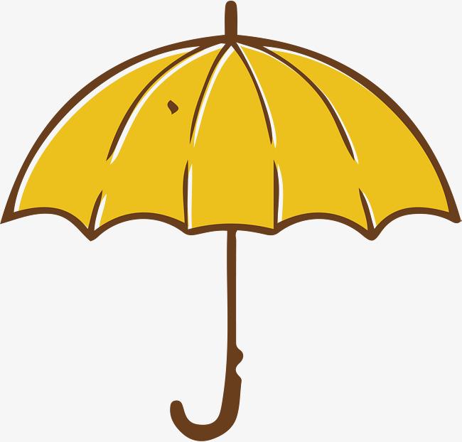 650x622 Yellow Umbrella, Umbrella Vector, Vector Png, Umbrella Png And