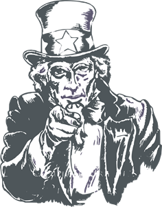236x300 Uncle Sam Logo Vector (.cdr) Free Download