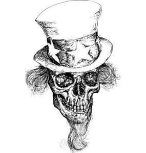 285x300 Uncle Sam Skull Vector