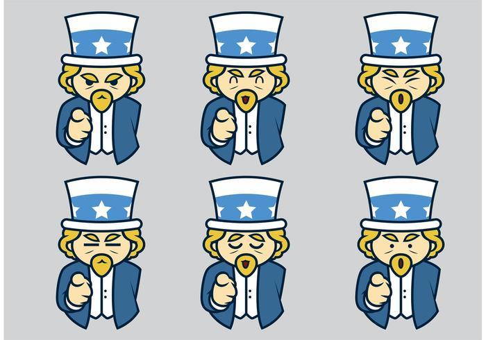 700x490 Uncle Sam Vectors