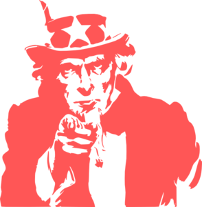 294x300 Uncle Sam Clipart Vector