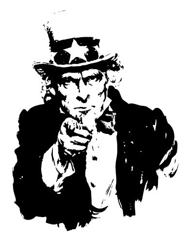388x519 Free Vector Uncle Sam Wants You