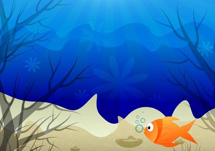 700x490 Underwater Scene Colorful Background