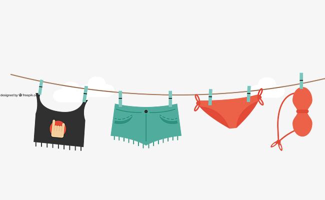 650x400 Vector Color Creative Lanyard Clothes Shorts Underwear, Color