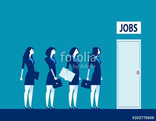 500x387 Unemployment The Digital Age. Competition Of People For Jobs