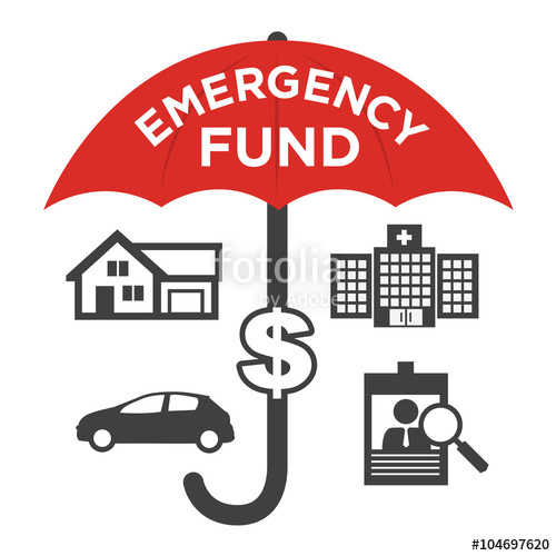 500x500 Financial Emergency Fund Icons