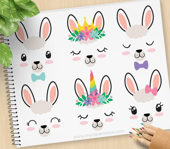 570x499 Llama Faces, Alpaca Clipart, Unicorn, Emoji, Llama Queen, Decal