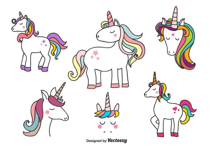 700x490 Unicorn Free Vector Art