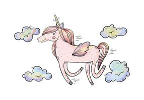 286x200 Unicorn Free Vector Art