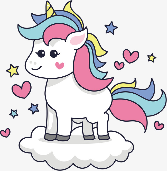 Unicornio Vector at GetDrawings.com | Free for personal use ...