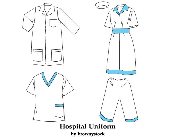 600x480 Free Hospital Uniform Vector Template Free Psd Files, Vectors