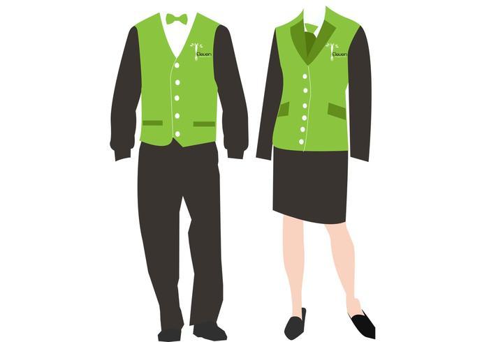 700x490 Free Staff Uniform Vectors